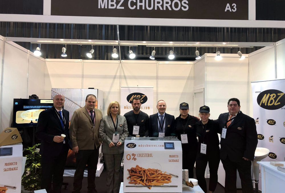 The success of MBZ Churros at Expo Foodservice