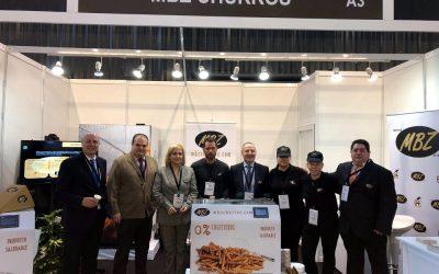 Éxito de MBZ Churros en Expo Food Service