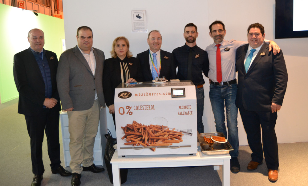Our churros received a very positive reception at FITUR 2019