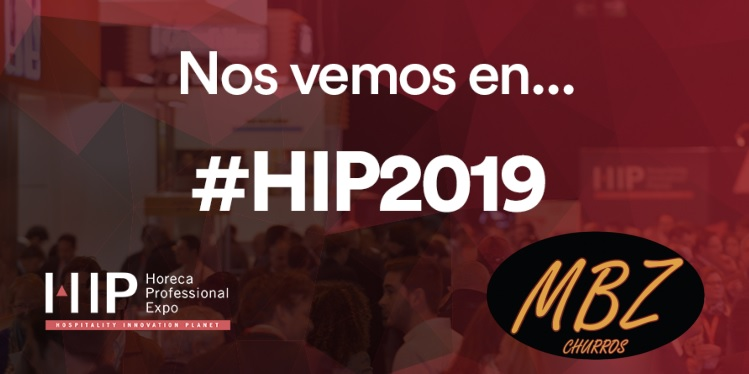 MBZ Churros at HIP 2019