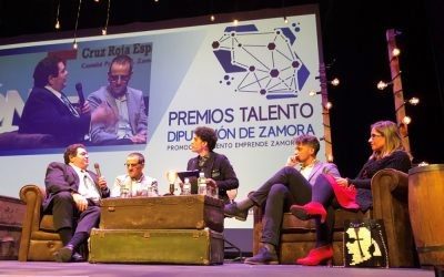 MBZ Churros en los Premios Talento de la Diputación de Zamora