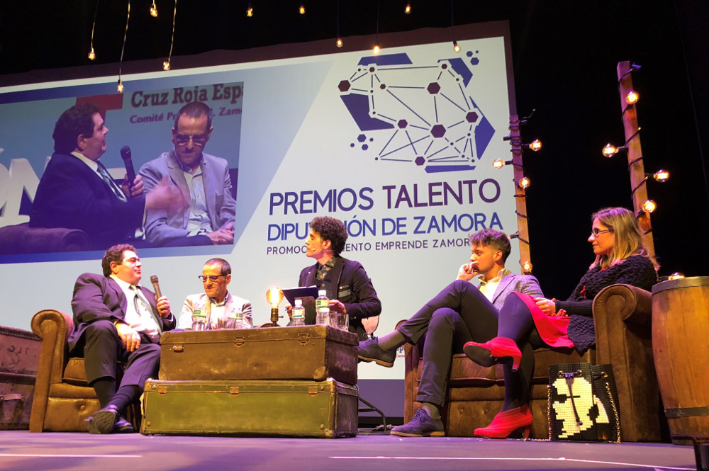 MBZ Churros at the Talent Awards by Zamora's City Council